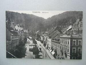 Ansichtskarte Triberg um 1910? Marktplatz Schwarzwald