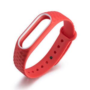 13mm-Silikon-Armband-Sport-Ersatz-Uhrenarmband-Strap-fuer-Xiaomi-Mi-Band-2