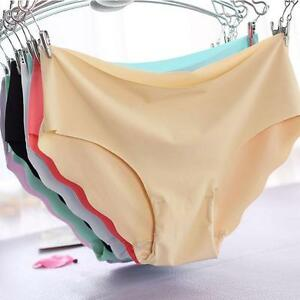 DONNE-SEXY-SLIP-di-cotone-mutandine-mutande-invisibile-senza-cuciture-Biancheria