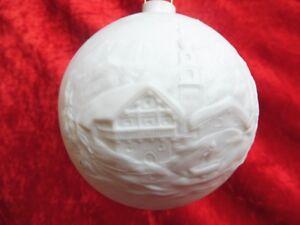 Beautiful-Porzellqankugel-Christmas-Ornament-Thuringia-10cm-Ball