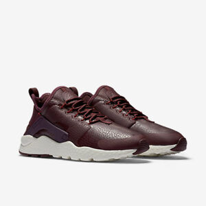 6f2a833f3ebc NIKE AIR HUARACHE RUN ULTRA PREMIUM 859511 600 SIZES UK4.5 6 EUR38 ...