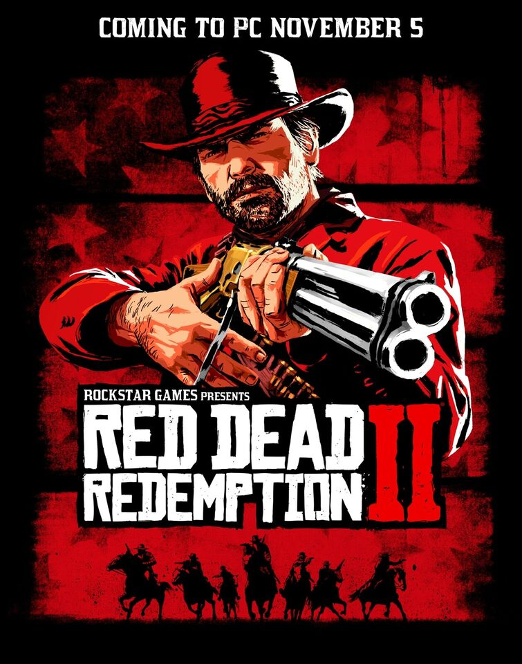 Red dead Redemption 2, PS4, adventure
