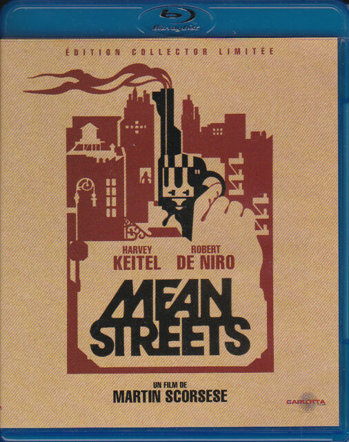 BLU RAY - MEAN STREETS - MARTIN SCORSESE - ROBERT DE NIRO