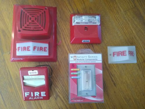 Edwards Standard Space Age Lot of RARE fire alarms Simplex Viking