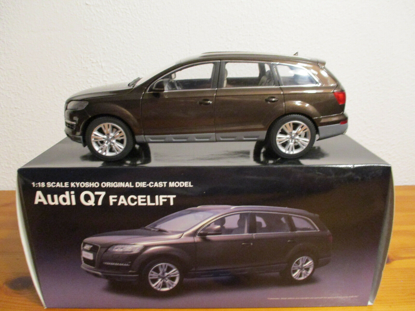 ( GOR ) 1 18 Kyosho Audi Q7 Facelift neuf emballage scellé