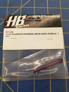 HPI ALUMINUM UNIVERSAL DRIVE SHAFT 44MM//2MM//PURPLE