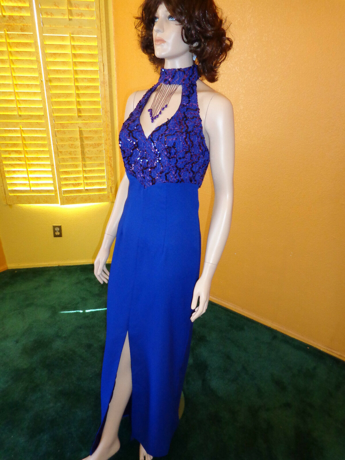 Gorgeous New Alyce bluee formal formal formal Dress size 16 4e733c
