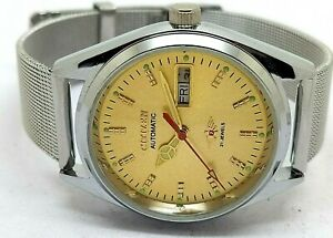 CITIZEN-AUTOMATIC-MEN-STEEL-PLATED-VINTAGE-MADE-JAPAN-WATCH-RUN-ORDER