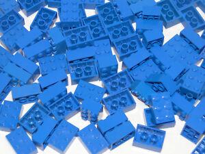 Lego Basic 100 x Bleu 2x3 Pierre