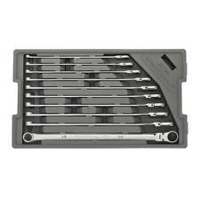 GearWrench 10 Pc 120XP Universal Spline Metric XL Flex GearBox Wrench Set 86126
