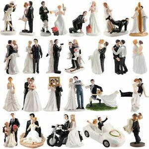 Humor Marriage Funny Polyresin Figurine Wedding Cake Toppers Bride Groom Decor Ebay