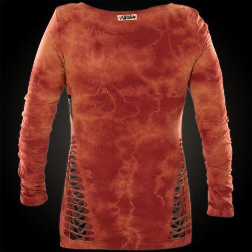 Standard Pullover Orange Supply Damen Affliction YwpxUOq