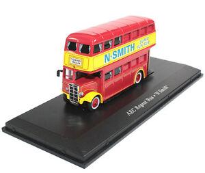 1-76-AEC-Regent-Bus-N-Smith-Diecast-Model-Mint-The-Greatest-Show-On-Earth-Atlas