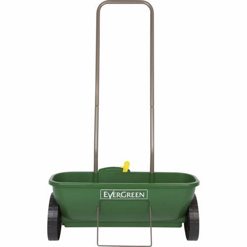 Miracle-Gro Lawn Drop Spreader Even Spread Fertiliser Push Trolley Garden Tool
