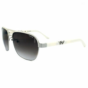 Police Gold Frame Sunglasses : Police Sunglasses Drift 4 8752 579 Light Gold & White ...