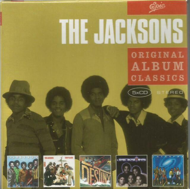 The Jacksons (Michael Jackson) - Original Album Classics 5CD Epic albums box set