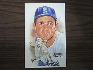 Sandy-Koufax-Perez-Steele-Postcard-Los-Angeles-Dodgers