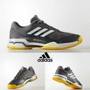Details about Adidas Tennis Barricade Club Shoes Running Grey White BY1638 SZ 4 13