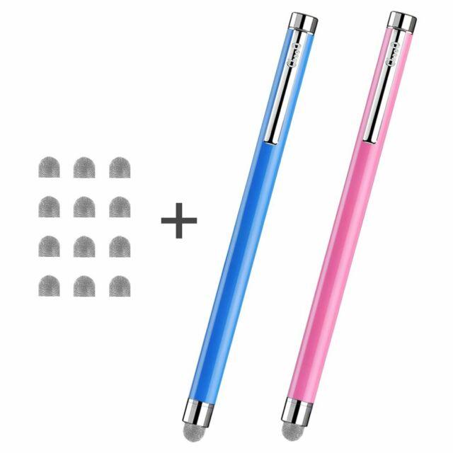Metal Microfiber Mesh Tip Stylus Pen Touch Screen Pen for Smartphone Tablet PC