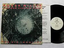 Roger MILLER The big industry UK LP FUNDAMENTAL (1987) Indus / Avant EX+