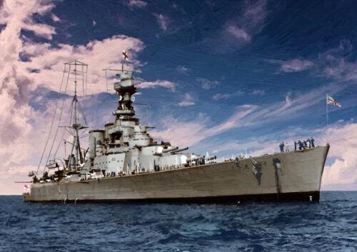 HMS Hood-mano acabado Edición Limitada 25