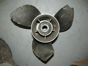 Details about Suzuki Outboard 115 hp Powertech Stainless Steel Propeller  SF115PTR3R17P