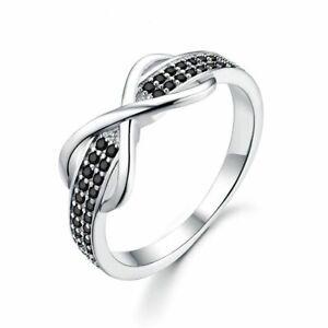 Unendlichkeit-echt-925-Silber-Ring-Damen-edlen-Schmuck-Trend-women-silver-rings