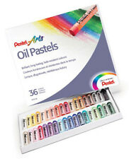 Pentel Artists Oil Pastels - 36 Set
