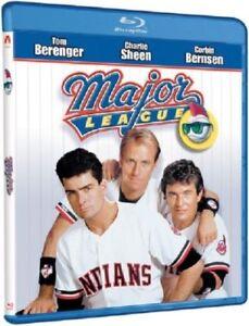 Blu-Ray-MAJOR-LEAGUE-Tom-Berenger-Charlie-Sheen-Region-free-New-sealed