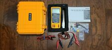 Fluke 725 Process Calibration Multimeter As New Condition With Hard Case