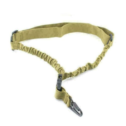 USA Tactical 1 Point Sling Adjustable Bungee Rifle Gun Sling with QD Buckle ARMG
