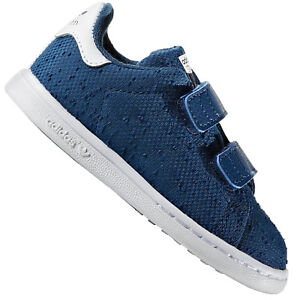 stan smith bambino blu
