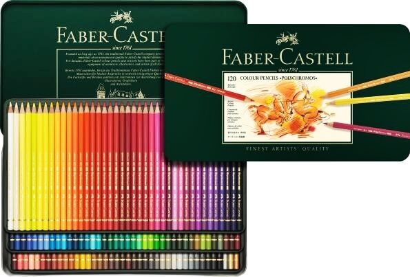 Coloured pencils Faber-Castell POLYCHROMOS 120 COLOURS 110011