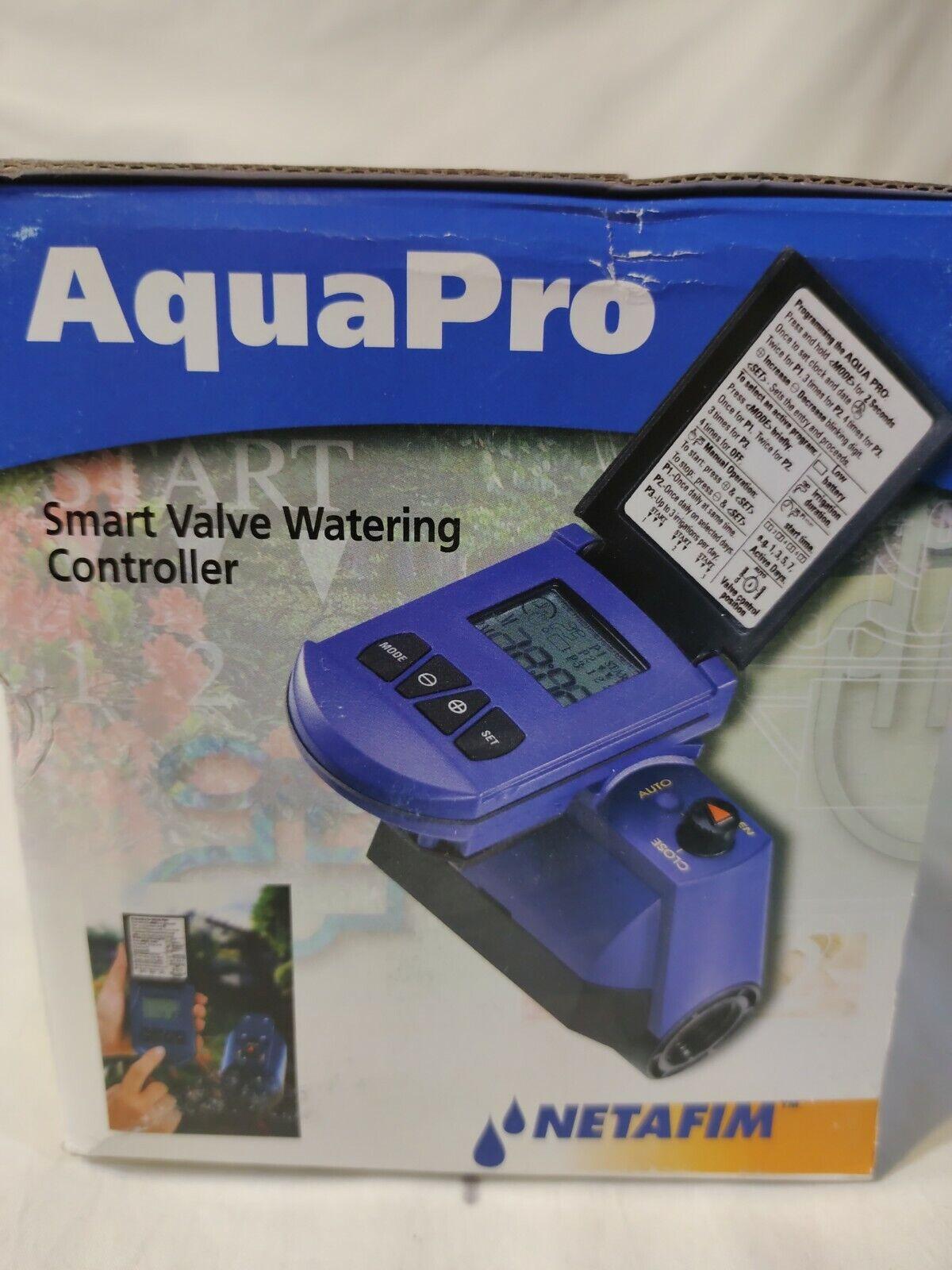 Netafim Aqua Pro Smart Valve Watering Controller DC 1