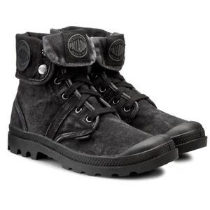 Details about Palladium Baggy Boots Shoes Men's Black Metal 02478 069 M