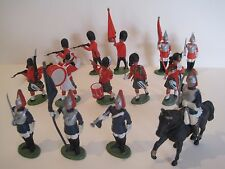 Britains Toy Soldiers BUNDLE/JOBLOT OF BRITISH BLUES & ROYALS COLDSTREAM GUARDS