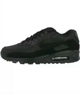 0f87dcb4c0 Nike Air Max 90 Essential Men's Sz 9.5 Running Shoes Triple Black ...