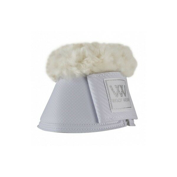 Woof Wear Pro Sheepskin Overreach Boots White
