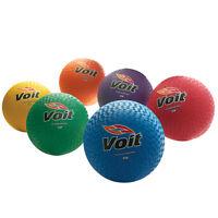 Voit 10 Playground Balls Yellow
