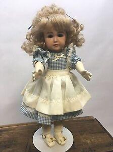 K * R Mein Leibling-Simon & Halbig 117/58 German Reproduction Handmade Doll