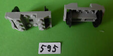 Lego Eisenbahn : 2 Achsen althellgrau für z.B. 4511
