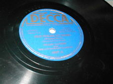 78 Old Folks At Home I Dream Of Jeanie With Light Brown Frank Luther Decca 1997