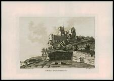 1783 - Original Antique Print ST MICHAELS MOUNT, CORNWALL Pl.3 (P111)