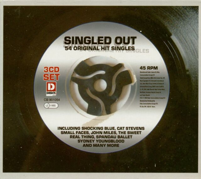 Various - Singled Out - 54 Original Hit Singles (3-CD) - Pop Vocal