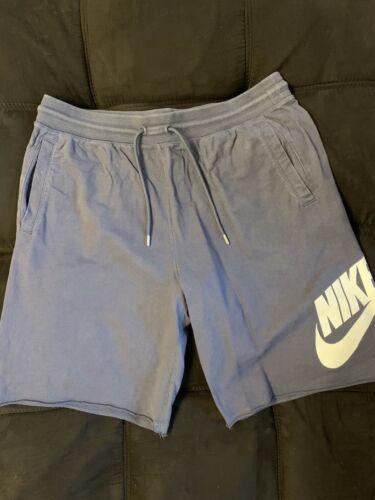 Nike Sweat Shorts Blue XL