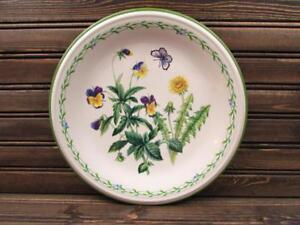 Garden-Bloom-by-Studio-Nova-Dinner-Plate-Laurel-Ring-Floral-Center-Coupe-L154