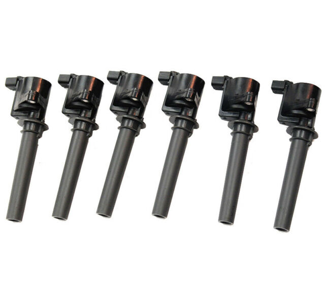 6 Pieces New Ignition Coil For Ford and Mercury With V6 Engine 2M2Z12029AC