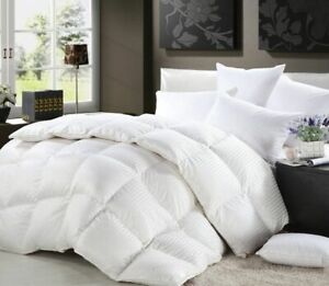 Pure-Quality-Hungarian-100-Down-Luxury-Goose-Down-Duvet-Quilt-13-5-Tog-Pillows
