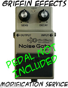 boss nf 1 noise gate griffin effects slow gear modification service mod ebay. Black Bedroom Furniture Sets. Home Design Ideas