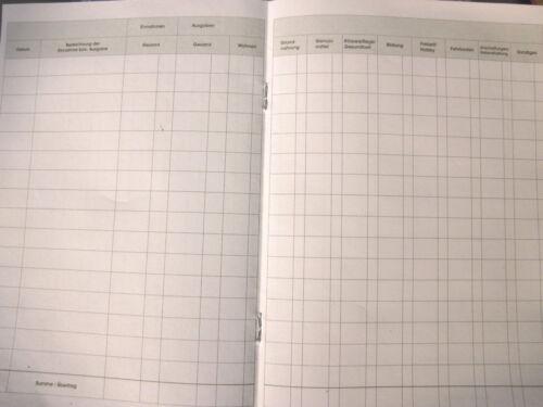 Ausgaben     Neu   13  Spalten Haushaltsbuch Haushaltbuch   Einnahmen